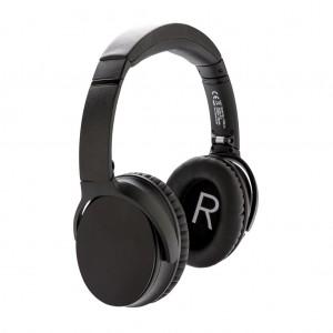 Swiss Peak ANC ausinės, juodos spalvos