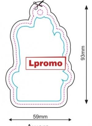 Pakabinami automobiliniai kvapai, forma lpf847
