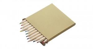 12 vnt spalvoti pieštukai KOLORA