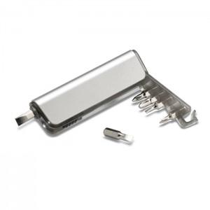 Įrankių laikiklis su LED žibintuvėliu