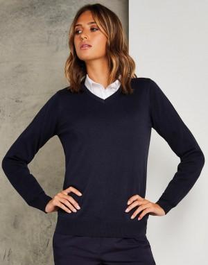 Moteriškas klasikinio kirpimo džemperis
