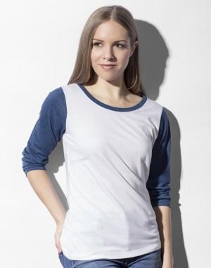 Moteriški beisbolo marškinėliai