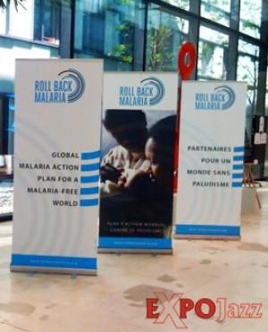 Mobilūs reklaminiai stendai ExpoJazz Sumero, 80x200 cm