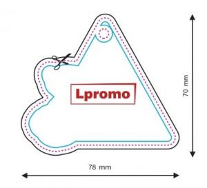 Kvapai su Jūsų logo, forma lpf466
