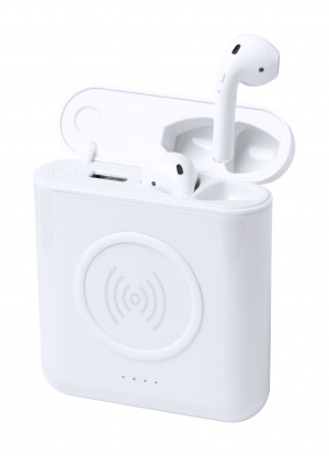 Verslo dovanos Molik (power bank earphones)