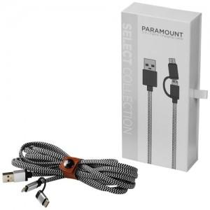 Paramount firmos medžiaginis įkrovimo kabelis