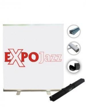 Reklaminiai stendai su spauda ExpoJazz Russel, 200x200 cm