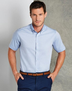 Tailored Fit Premium Oxford Shirt SSL. Vyriški marškiniai