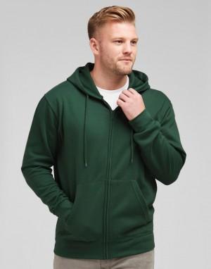 Vyriškas džemperis su gobtuvu ir su užtrauktuku