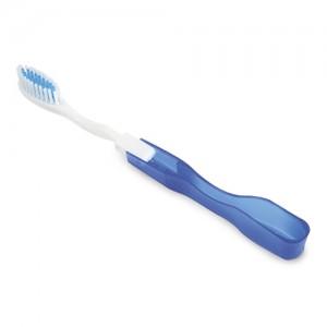 Sulankstomas kelioninis dantų šepetėlis
