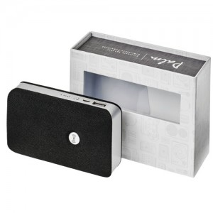 Bluetooth garsiakalbis su bevielio maitinimo banku