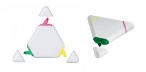 Trikampio formos žymekliai-markeriai
