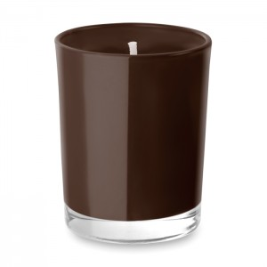 Kvapiosios žvakės stiklinėje