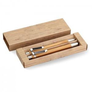 Bambuko pieštukas ir išmanusis rašiklis