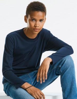 Vaikiški aukštos raiškos T-marškinėliai ilgomis rankovėmis