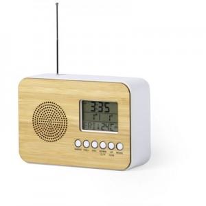 Stalo laikrodis su žadintuvu, radijas