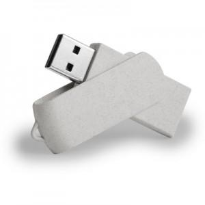 """Kviečių šiaudų USB atmintinė """"Twist"""" 16GB"""