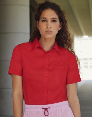 Moteriški marškiniai iš poplino