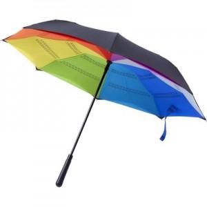 Apverčiamas automatinis skėtis