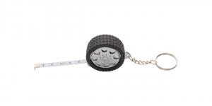Verslo dovanos Wheel (keyring with tape measure)