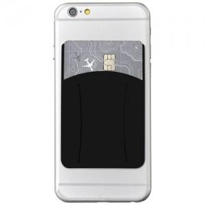 Storee firmos silikoninė išmaniojo telefono piniginė su anga pirštui