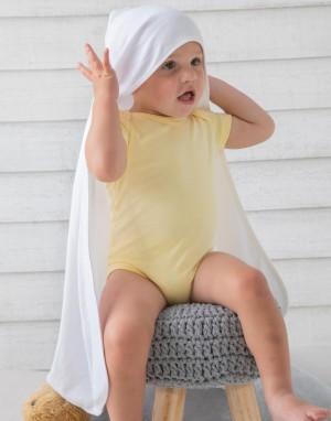 Ekologiška antklodė su gobtuvu kūdikiams