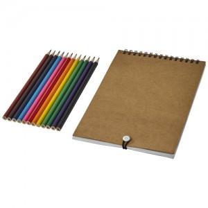 Claude piešimo rinkinys su užrašų knygele