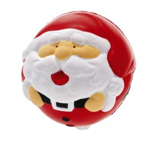Kalėdų senelio formos antistresinis kamuoliukas