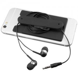 Laidinės ausinės ir silikoninė telefono piniginė