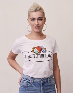 Drabužiai reklamai (Ladies Vintage T Large Logo Print)