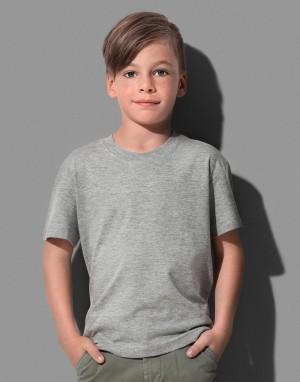 Vaikiški klasikiniai ekologiški marškinėliai