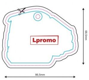 Kokybiški kvapai automobiliui, forma lpf1208