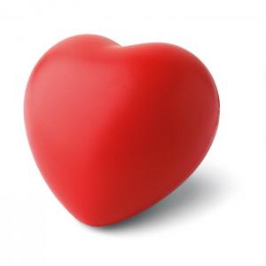 Antistresinis kamuoliukas širdies formos