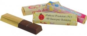 Reklaminiai šokoladukai su Jūsų įmonės reklama ar logotipu