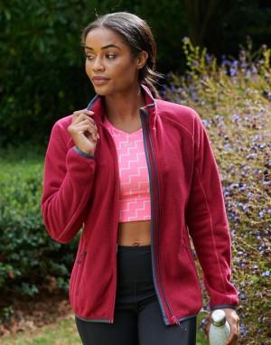 Moteriškas korinio fliso džemperis