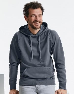 Vyriškas aukštos raiškos džemperis su gobtuvu