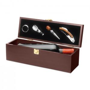 Vyno aksesuarų rinkinys dėžėje