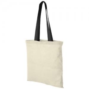 Nevada firmos medvilninis krepšys su spalvotomis rankenomis
