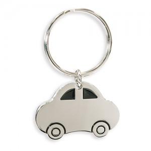 Automobilio formos metalinis raktų pakabukas