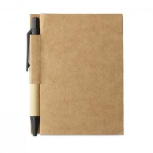 Memo note w / mini perdirbtas rašiklis