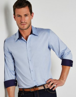 Tailored Fit Premium Contrast Oxford Shirt. Vyriški marškiniai