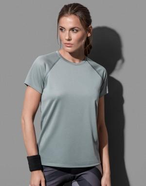 Moteriški aktyvaus sporto marškinėliai