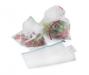 VEGE firmos tinklinės medžiagos maišelių rinkinys
