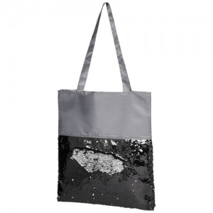 Žvyneliais dekoruotas krepšys