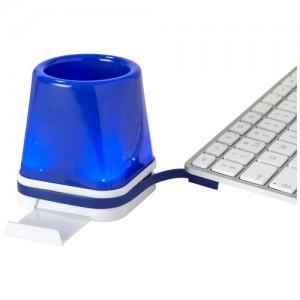 Šviečiantis stalinis USB šakotuvas