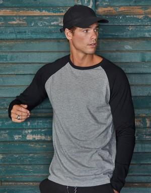 Vyriški beisbolo marškinėliai ilgomis rankovėmis