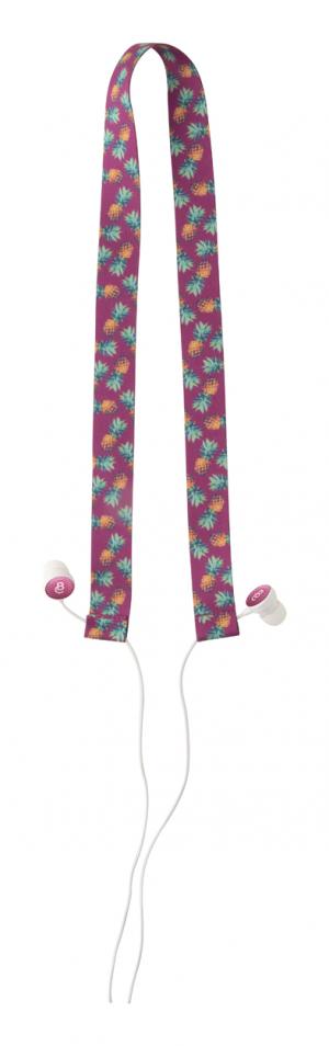 Verslo dovanos Subobass RPET (earphones lanyard)