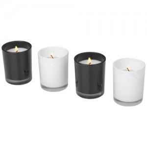 Hills firmos 4-ių dalių aromatizuotų žvakių rinkinys