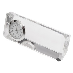 Crisitalino prespapjė su laikrodžiu