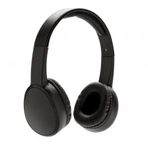 Fusion belaidės ausinės, juodos splavos